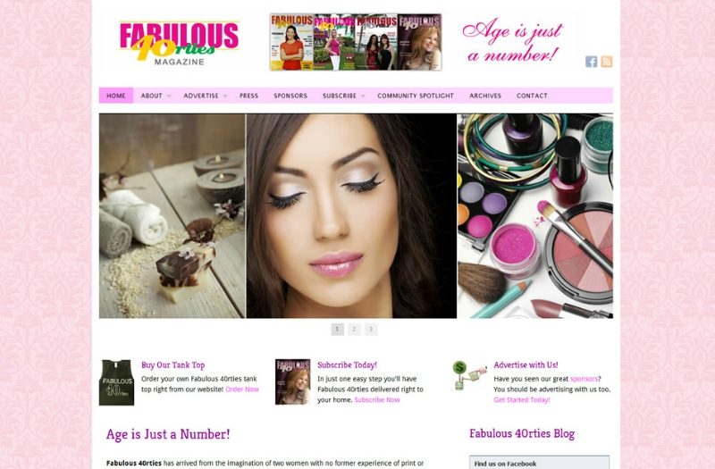 Fabulous 40rties Homepage