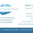 Hampton Blue Pools Bus. Card