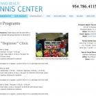 Pompano Beach Tennis Center Adult Programs