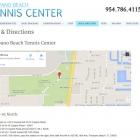 Pompano Beach Tennis Center Map & Directions