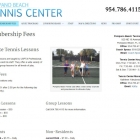 Pompano Beach Tennis Center Membership