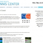 Pompano Beach Tennis Center Sport Court