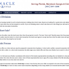 Short Sale Division Page
