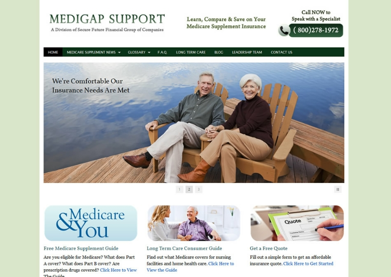 Medigap Support Homepage