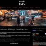 Label 55 Custom WordPress Website Design