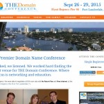 The Domain Conference Fort Lauderdale WordPress Website Development