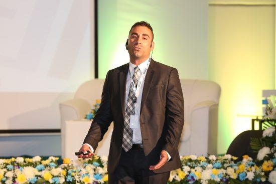 Brett Napoli speaking on Branding in Dubai, 2016